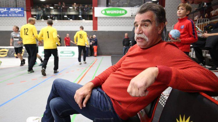 Heiner Brandt in der Kreisporthalle