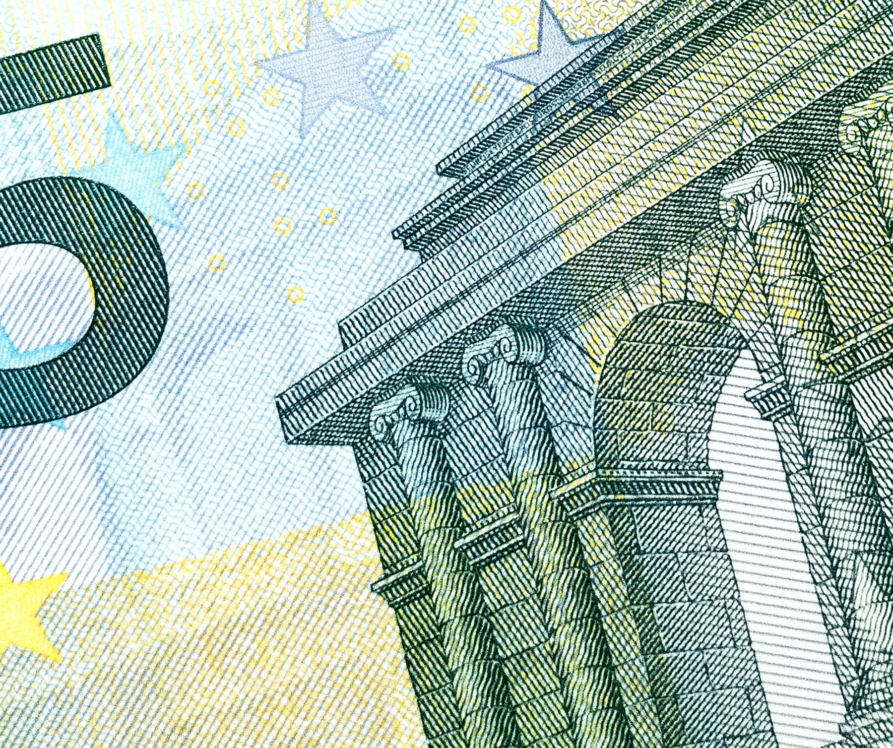 Euro Schein fünfer