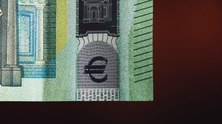 Euro Geldschein Auszug